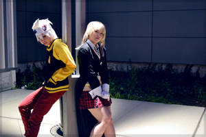 Soul and Maka by Faxen