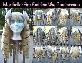 Wig Commission::Maribelle- Fire Emblem by Faxen