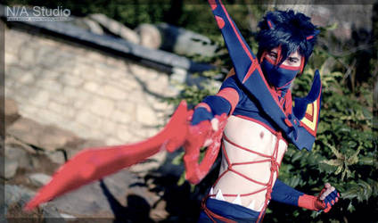 Male Ryuko by Faxen