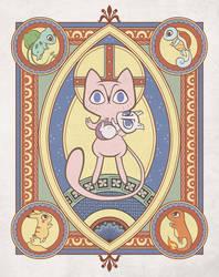 Saint Mew by ZanCats