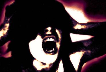 Revolver Screamer Vampire by Devilshort