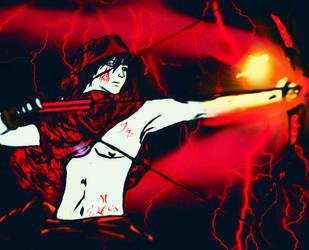 Crimson Archer by Devilshort