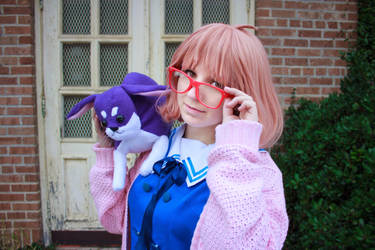 Beyond The Boundary - Mirai Yakiimo - Smile by foxbent