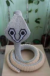 3D Origami Cobra pic 2 by Catstrosity