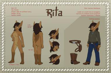 Ref-Sheet: Rita by MrMcArthur