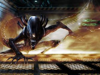 Alien by Sgrum