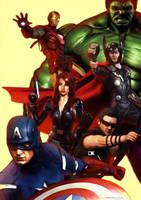 Avengers! by Sgrum