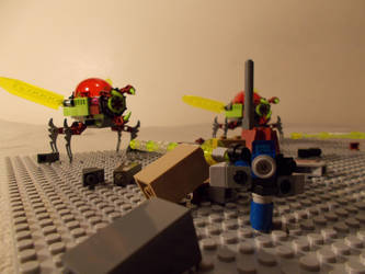 Attack of the alien invaders! Part 2 by DanteZX
