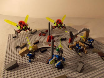 Attack of the alien invaders! by DanteZX