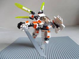 Galactic Rangers G.R.V.-12 Knightmare by DanteZX