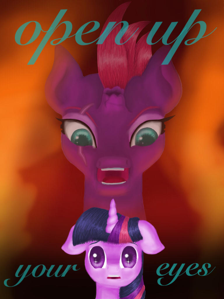 Open your eyes, Twilight by TurquoiseThought