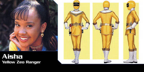 Power Rangers AU - Aisha as Zeo Ranger 2 by Dishdude87