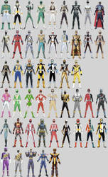 All Orion's Possible Ranger Modes by Dishdude87