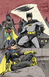 1966 Batman Trio By Hoganvibe-d by Dishdude87