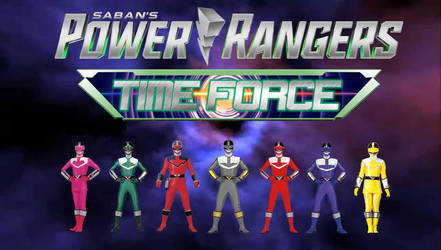 Power Rangers Time Force by Dishdude87
