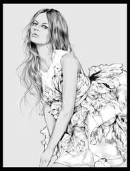 Anna Ewers by Nazgrelle
