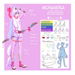 Monhera Closed Species Reference by AmeliaGrayson