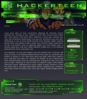 Hackerteen website by yorikvanhavre