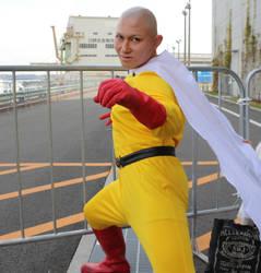 One Punch Man Saitama Cosplay Anime Japan by GmanCommand