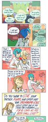 Strawberry Panic: Amane's Gay Crisis by omgdragonfly