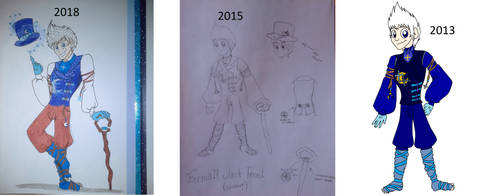 Formal Jack Frost (Art Evolution) by TessaLovesOzzy