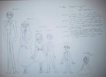 The Skellington Kids (TNBC) by TessaLovesOzzy