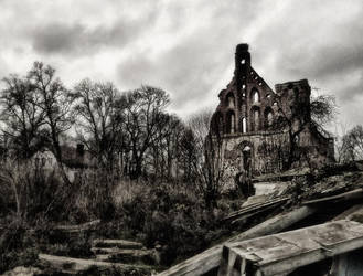 Ruins Of The Old Church by Valdis108