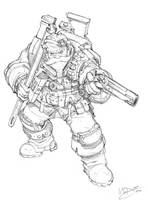 Tech Dwarf by Max-Dunbar