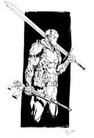 Inktober 2nd by Max-Dunbar