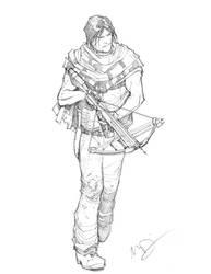 Daryl Dixon by Max-Dunbar