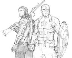Captain America Civil War by Max-Dunbar