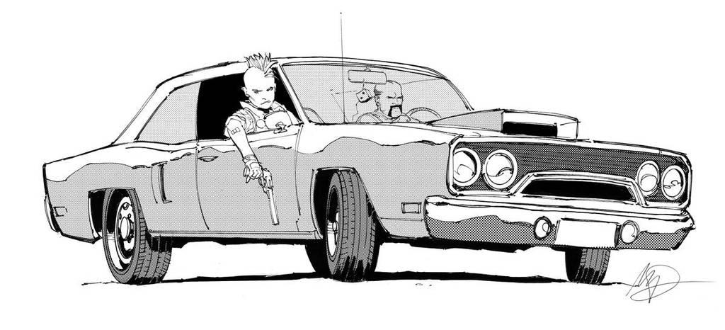 Car Rumble by Max-Dunbar