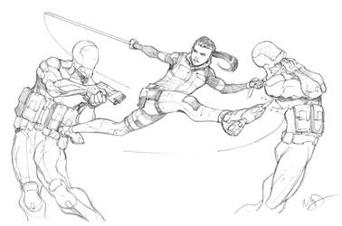 Fight by Max-Dunbar
