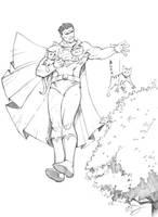 Bizarro Superman by Max-Dunbar