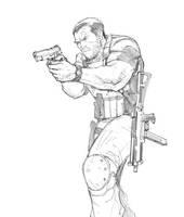 Punisher sketch by Max-Dunbar