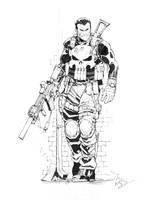 Punisher Pre-ECCC by Max-Dunbar