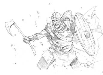 Viking Berserker by Max-Dunbar