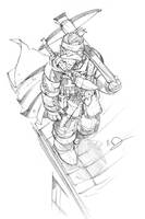 Dwarven Assassin by Max-Dunbar