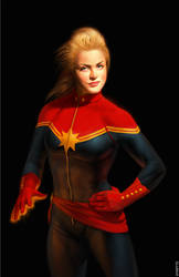 Captain Marvel by ayhotte