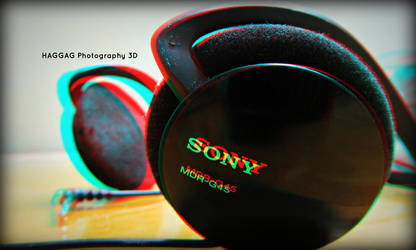 Sony Headphone 3D by haggaghm