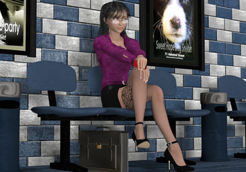 Working Girl by Dangerboy3D
