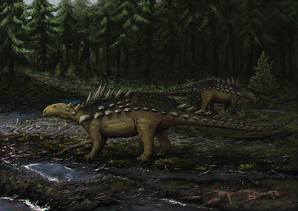 Polacanthus by Apsaravis