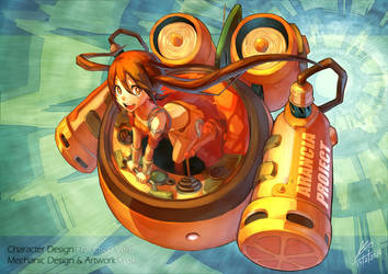 My version of Arancia by Kyokimaru