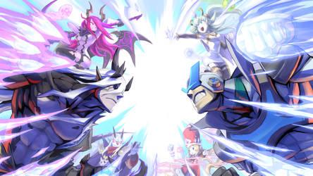 Ultimate showdown by Kyokimaru