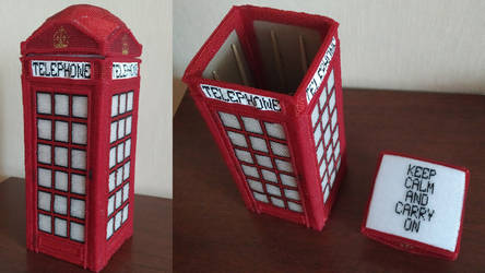 K6 Telephone Booth by CarryPhoenix
