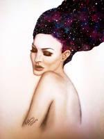 galaxy hair by Edisra