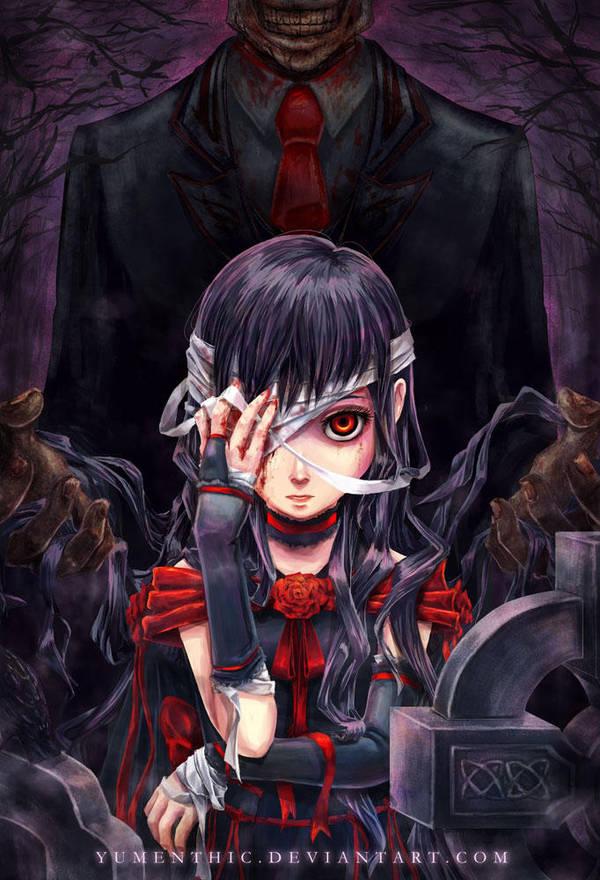 Crimson Tears by Yumenthic