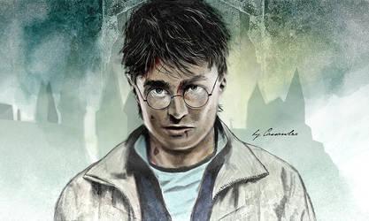 Harry Potter 7 part two final by secretSWC