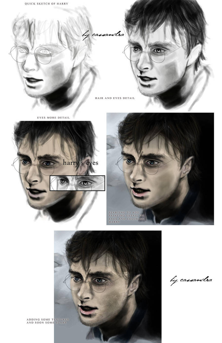 from the start HP sketch paint by secretSWC