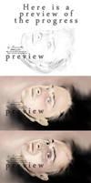 Progress of Danny :P by secretSWC